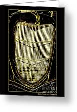 Classic Gold Grill Greeting Card