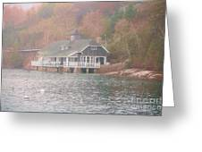 Classic Maine Architecture Greeting Card