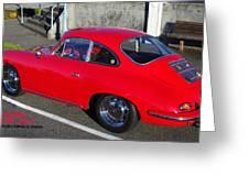 Classic Porsche 356c Greeting Card