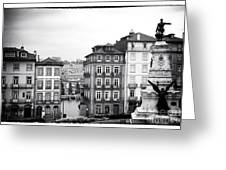 Classic Porto Greeting Card by John Rizzuto