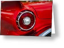 1957 Ford Thunderbird Classic Car  Greeting Card