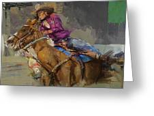 Classic Rodeo 3b Greeting Card