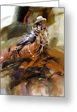 Classic Rodeo 6b Greeting Card