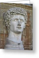 Classic Roman Noble Greeting Card