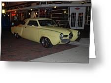 Classic Studebaker Greeting Card
