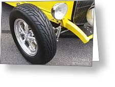 Classic Tire Tread Greeting Card