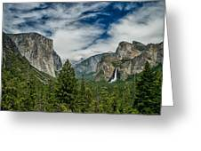 Classic Tunnel View Greeting Card