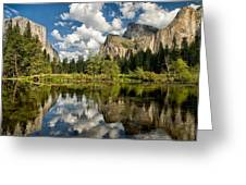 Classic Valley View Greeting Card