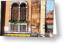 Classic Venice Greeting Card by TM Gand