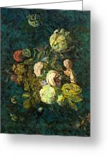 Classical Bouquet - S04bt01 Greeting Card by Variance Collections