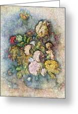 Classical Bouquet - V01c Greeting Card
