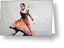 Classical Dance Art 11 Greeting Card