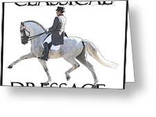 Classical Dressage Greeting Card