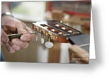 Classical Guitar Maker Greeting Card