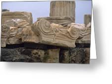 Classical Ruins Greeting Card