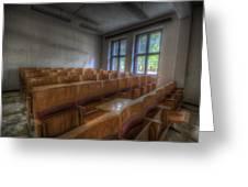 Classroom Seating Greeting Card