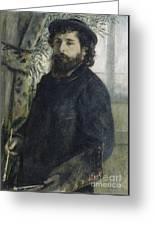 Claude Monet Self-portrait Greeting Card
