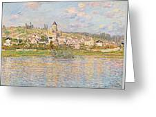 Claude Monet Vetheuil 1879 Greeting Card