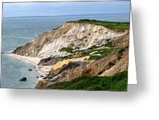 Clay Cliffs Greeting Card