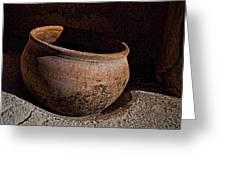 Clay Pot  ... Greeting Card