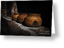 Clay Pots  ... Greeting Card