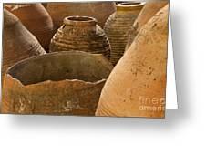 Clay Pots   #7811 Greeting Card
