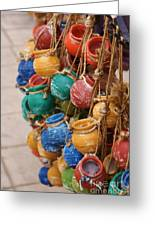 Clay Pots For Your Kitchen Greeting Card