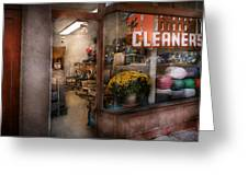 Cleaner - Ny - Chelsea - The Cleaners Greeting Card