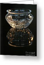 Clear As Glass Greeting Card