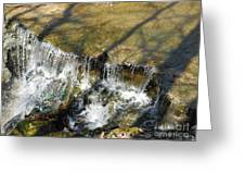 Clear Beautiful Water Series 2 Greeting Card