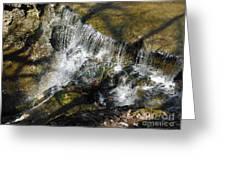 Clear Beautiful Water Series 3 Greeting Card