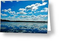 Clear Blue Waters  Greeting Card