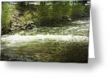 Clear Creek In Colorado Greeting Card