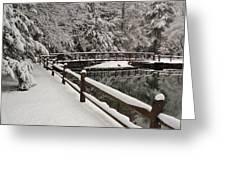 Clear Creek Winter Greeting Card