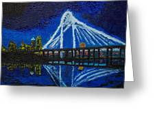 Clear Night Over The Trinity Greeting Card