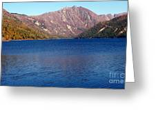 Clear Water Lake Greeting Card