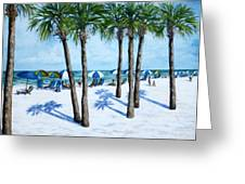 Clearwater Beach Morning Greeting Card