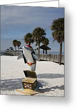 Clearwater Beach Pirate Greeting Card