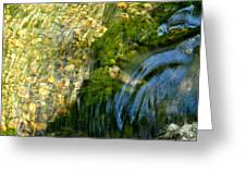 Clearwater Falls Series 11 Greeting Card