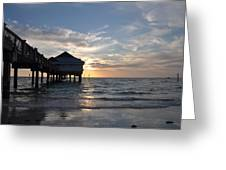 Clearwater Florida Pier 60 Greeting Card
