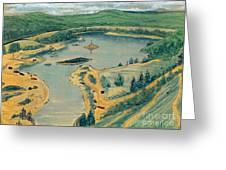 Clearwater Lake Early Days Greeting Card
