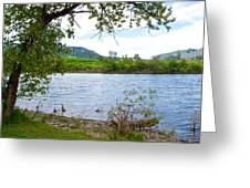 Clearwater River In Nez Perce National Historical Park-id  Greeting Card