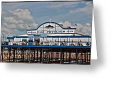 Cleethorpes Pier Greeting Card