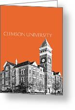 Clemson University - Coral Greeting Card
