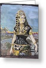 Cleopatra The Last Pharoah Of Egypt Greeting Card