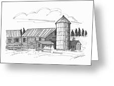 Clermont Barn 2 Greeting Card