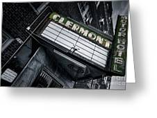 Clermont Hotel Greeting Card