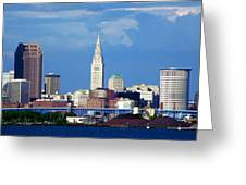 Cleveland Beauty Greeting Card