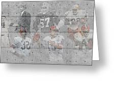 Cleveland Browns Legends Greeting Card