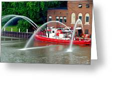 Cleveland Firehouse Greeting Card